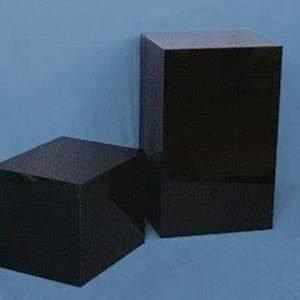 Black Rectangular Columns