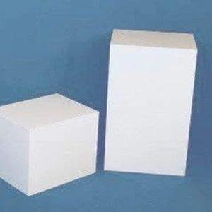 White Rectangular Columns