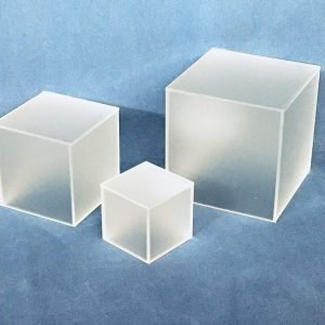 Frosted Small Square Cubes