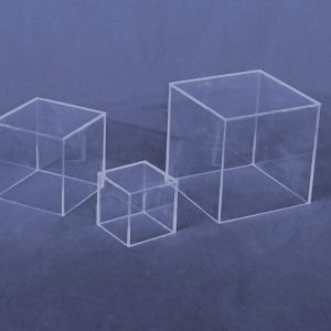 Clear Small Square Cubes