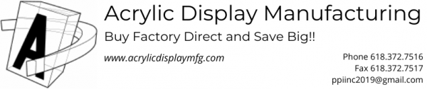 Acrylic Display Manufacturing
